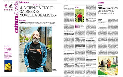 Entrevista Diari de Tarragona